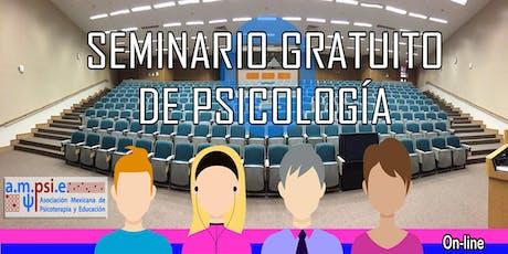 Seminario Gratuito de Psicología entradas