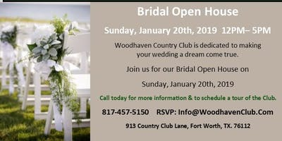 Bridal Open House at Woodhaven Country Club