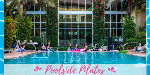 Poolside Pilates at Hilton West Palm Beach