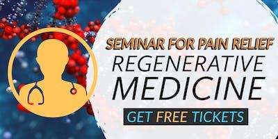 FREE Regenerative Medicine & Stem Cell for Pain Relief Seminar - Tampa, FL