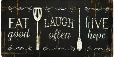 """Eat, Laugh and Give Hope"" A night of dinner fundraiser, worship and comedy"