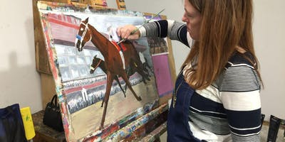Painting with Acrylics or Oils: 6 Week Course (Wednesday)