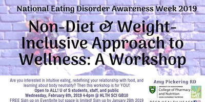 Non-Diet & Weight-Inclusive Approach to Wellness