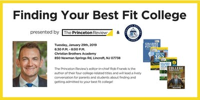 Finding Your Best Fit College with Rob Franek