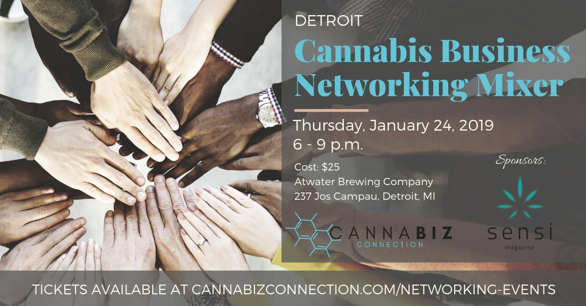 Detroit Cannabiz Connection Networking Mixer