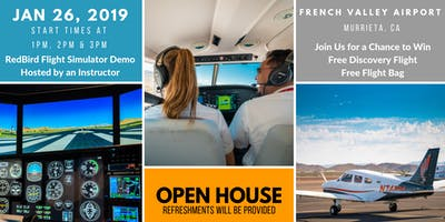 AeroGuard Flight Training Open House - CA