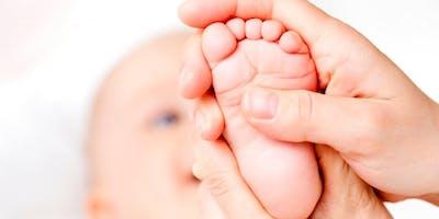 Cours de massage pour bébé (5 semaines)