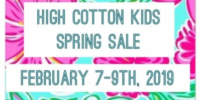 High Cotton Kids Children's Consignment Spring Sale