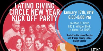 Latino Giving Circle New Year Kick Off Party