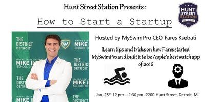 How to Start a Startup: Lunch & Learn