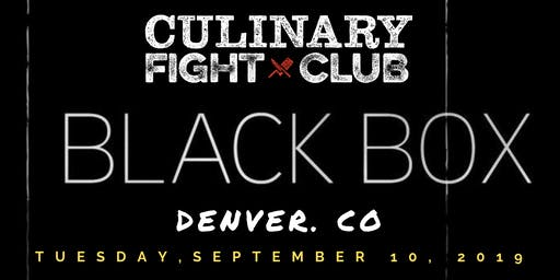 Culinary Fight Club - DENVER: The Black Box Challenge