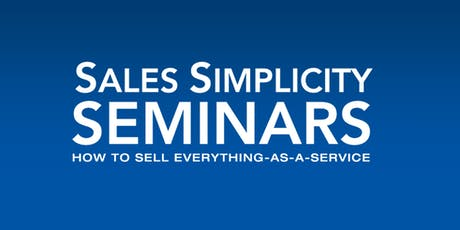 Sales Simplicity Seminar November 12-13, 2019 tickets