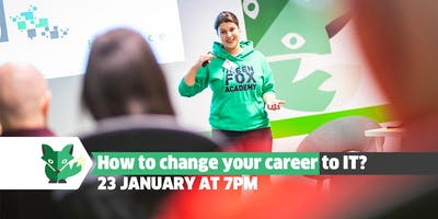 How to change your career to IT?