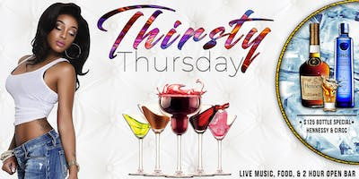 PVD VIP Presents: Thirsty Thursday (Open Bar)