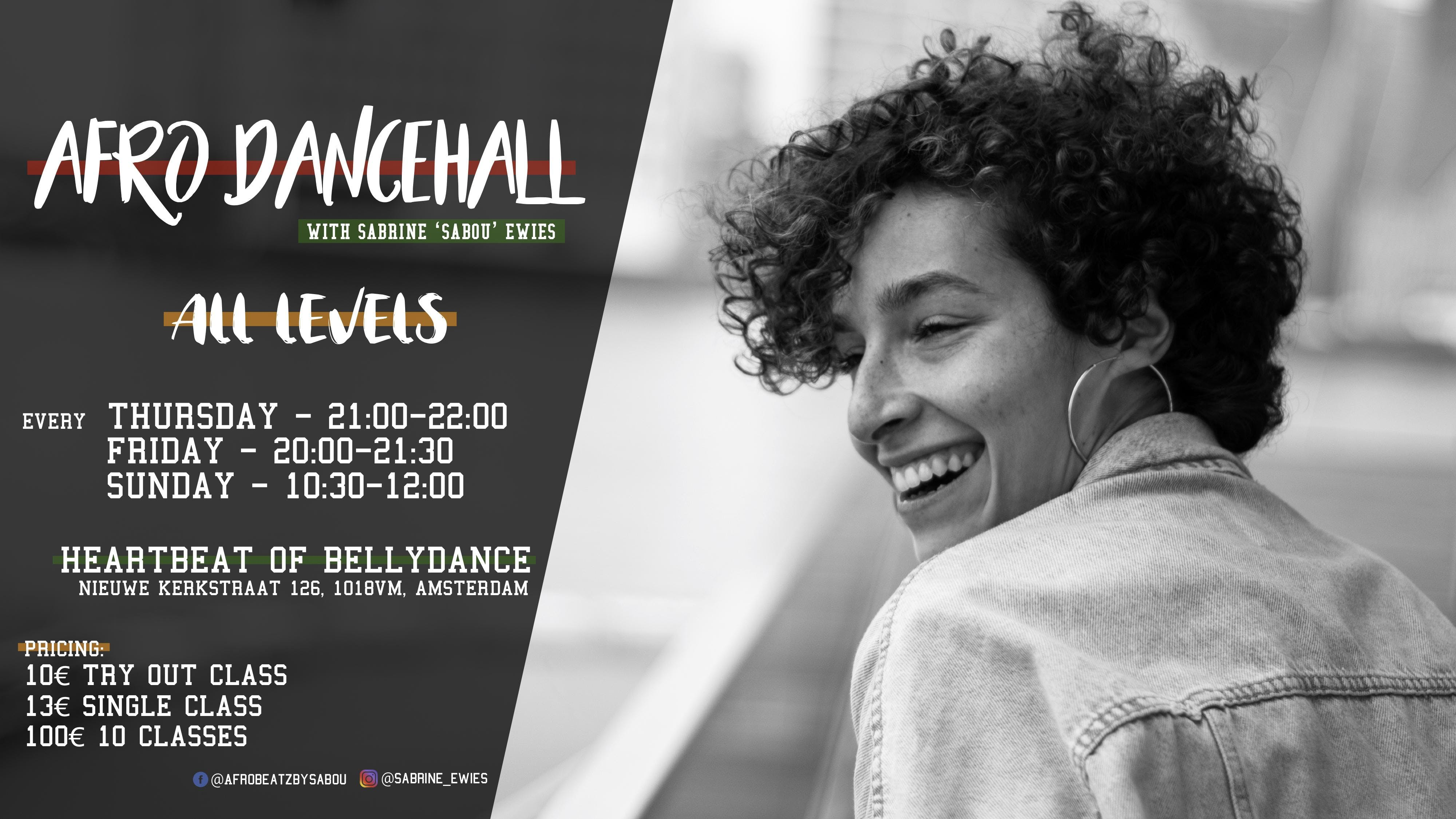 AFRO DANCEHALL in Amsterdam! (FRIDAY edition)
