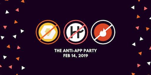 反应用程序情人节派对