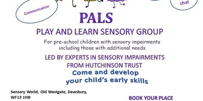 PALS Play And Learn Sensory Group for pre-school children with sensory impairments including those with additional needs