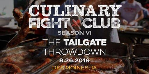 Culinary Fight Club - IOWA: The Tailgate Throwdown