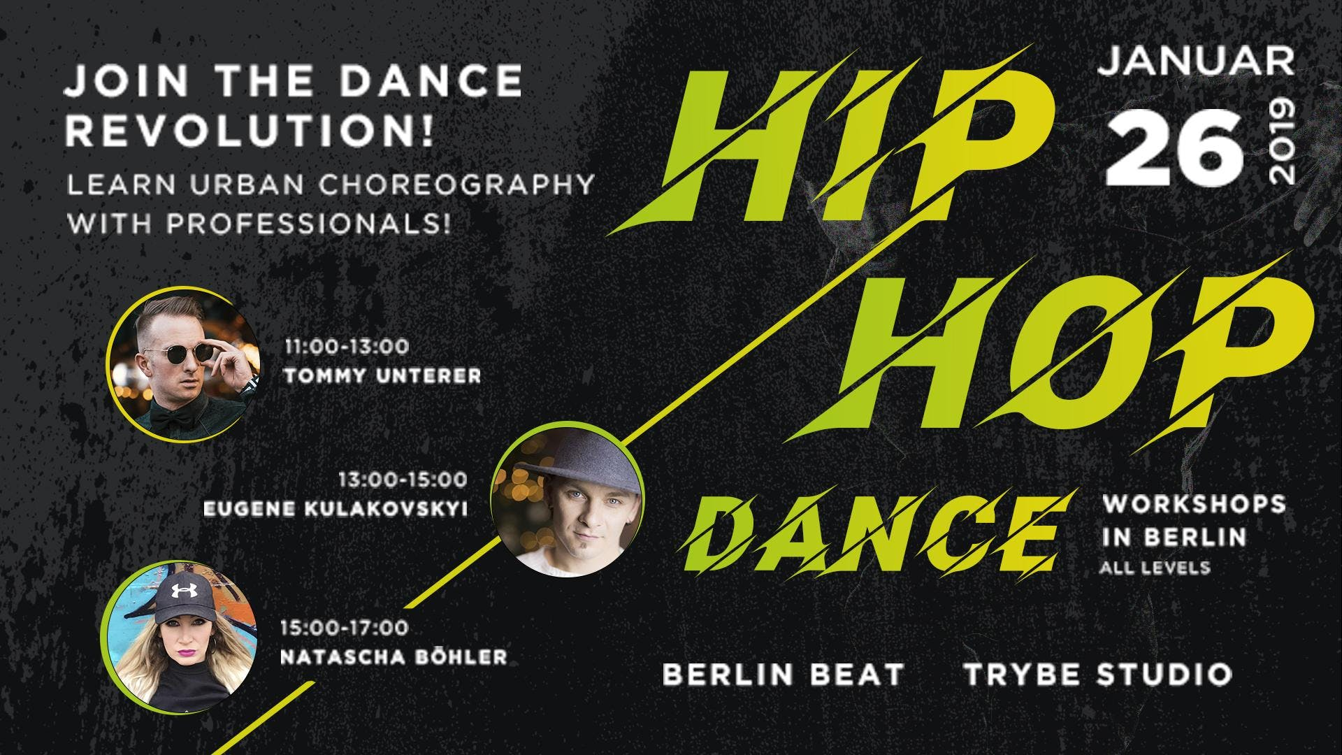 Hip Hop Dance Workshops