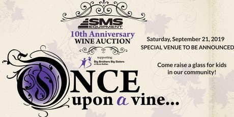 10th Annual SMS Equipment Wine Auction tickets