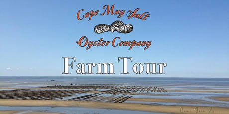 Cape May Salt Oyster Farm Tour tickets
