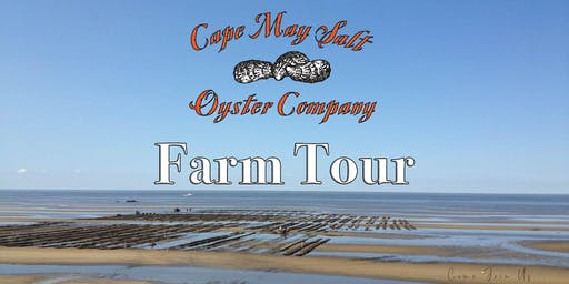 Cape May Salt Oyster Farm Tour