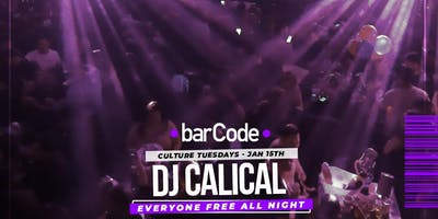 CULTURE TUESDAYS @BarCode Promo Only *This Is Not A Ticket*
