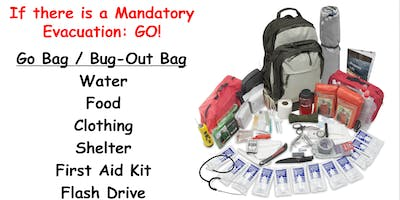 "LAFD CERT Battalion 10 Annual ""How to make a Great Prep Kit\"""