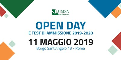 Open Day di Orientamento - Università LUMSA
