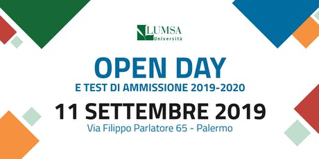 Open Day di Orientamento - Università LUMSA  tickets