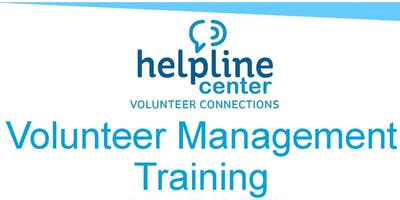 Sioux Empire Volunteer Management Training - May 2019