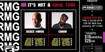 Derek Minor and Canon: It\
