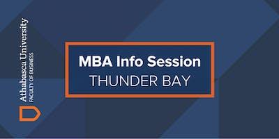 Athabasca University MBA Information Session-Thunder Bay