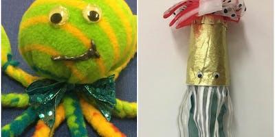 Kids Crafting Workshop: Sea Creatures!