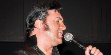 Andy Otley is Elvis