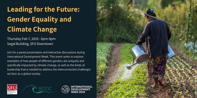 Leading for the Future: Gender Equality and Climate Change