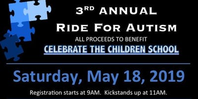 Ride for Autism benefiting Celebrate the Children School in Denville