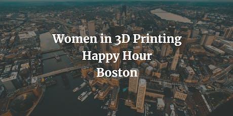 Boston Women in 3D Printing - July meetup tickets