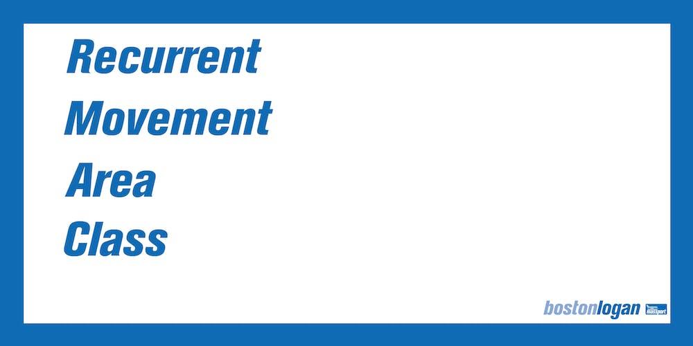 Class 3 License Recurrent Movement Area Certification Class