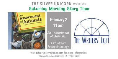 Saturday Morning Story Time with The Writer's Loft