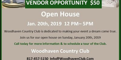 Vendor Opportunity - Open House at Woodhaven Country Club