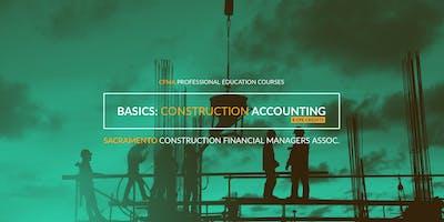 CFMA Education - The Basics of Construction Accounting Class