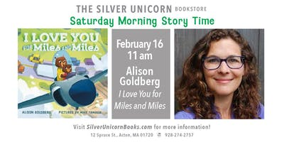 Saturday Morning Story Time with Alison Goldberg