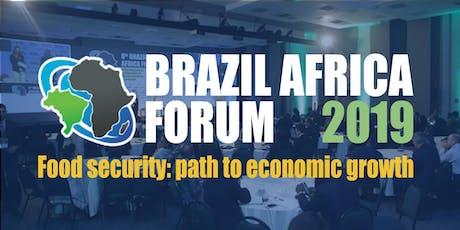 Brazil Africa Forum 2019 - Food Security: path to economic growth ingressos