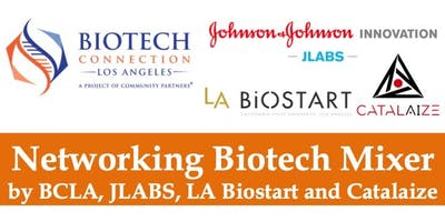 Biotech Networking Mixer with JLABS, LA Biostart and Catalaize