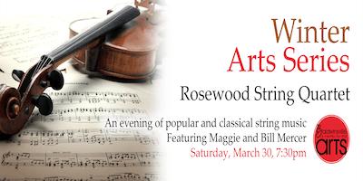 Winter Arts Series: Rosewood String Quartet