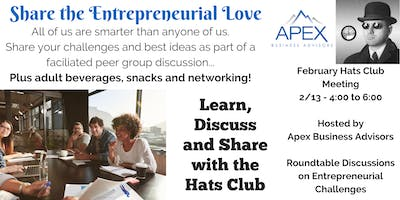 February Hats Club - Share the Entrepreneurial Love
