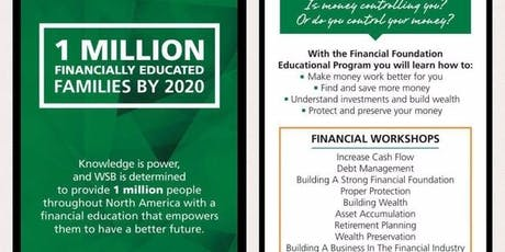 National Financial Literacy Campaign tickets
