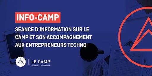 INFO CAMP - Séance d'information sur LE CAMP et son accompagnement