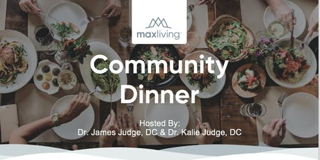 Community Dinner tickets